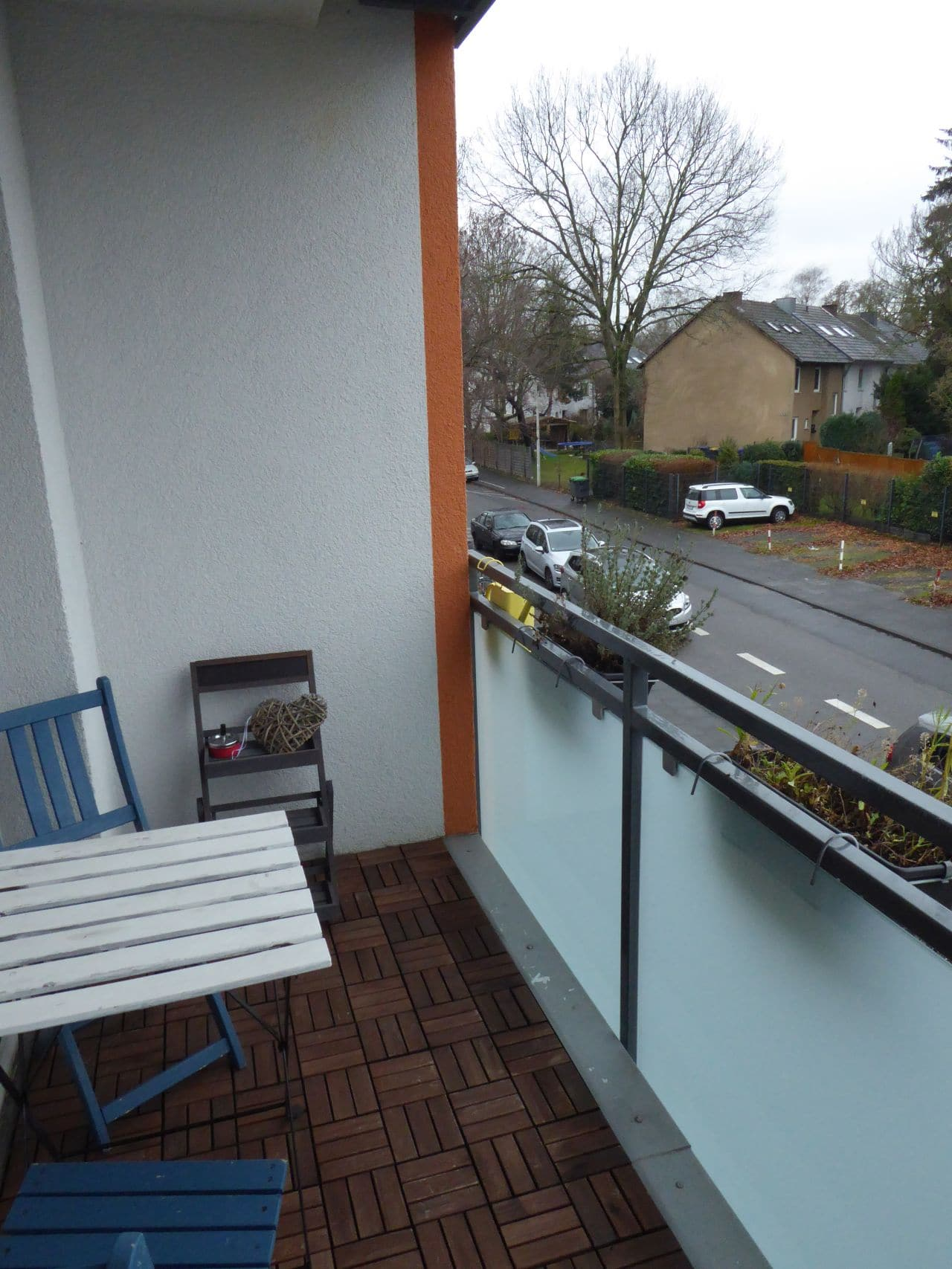 Balkon Front