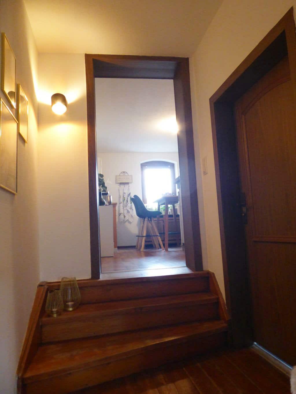 kleine Treppe WZ zur Küche